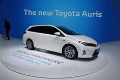 Toyota Brings New Auris Touring Sports To Paris