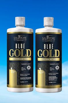 Blue Gold System Tanino Hair Restructuring Treatment Kit 2x1L - Salvatore #goldhair #hair #haircolor #haricare #goldblondehair #taninohair Gold Blonde Hair, Gold Hair, Blue Gold, Haircolor, Kit, Hair Color, Golden Blonde Hair, Hair Dye, Human Hair Color