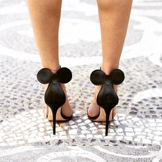 If you're a Disney girl at heart, these @charlotte_olympia Minnie Mouse sandals are for you