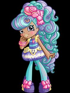 Meet all Shopkins characters and discover some of your favorites from Shopville. Shoppies Dolls, Shopkins And Shoppies, Shopkins Happy Places, Shopkins Characters, Fondant Tips, Mermaid Melody, Kawaii Doodles, Lol Dolls, All Things Cute