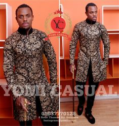 Yomi Casuals' The Redefined Man ~African Prints, Ankara, kitenge, African women dresses, African fashion styles, African clothing, Nigerian style, Ghanaian fashion ~DKK