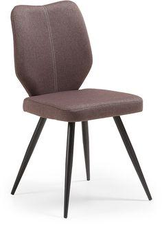 Nati stoel zwart / bruin - LaForma