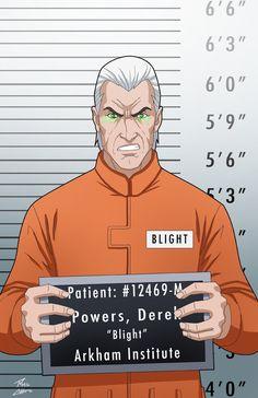 Derek Powers locked up by phil-cho on DeviantArt