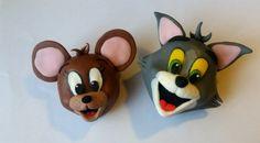Tom & Jerry in pasta di zucchero
