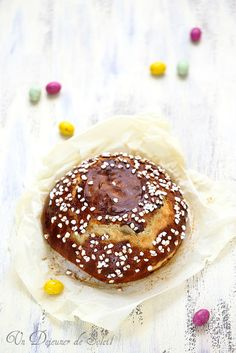 Un dejeuner de soleil: Mouna, brioche de Pâques