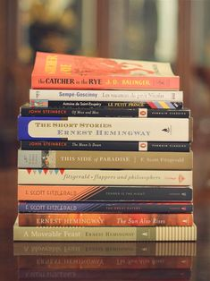 Stack of books. My reading list is always a mile high. I Love Books, Books To Read, My Books, Stack Of Books, Pile Of Books, Reading Lists, Book Lists, Niels Schneider, St Exupery