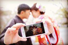 #weddingtbt #和装前撮り 京都編  撮ってみたかった自撮り風ショット。  #前撮り #和装  #京都 #kyoto #일본 #교토  #wedding