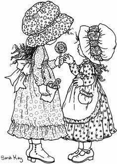 Holly Hobbie coloring pages Holly Hobbie, Coloring Book Pages, Printable Coloring Pages, Coloring Pages For Kids, Vintage Embroidery, Embroidery Patterns, Sara Kay, Hobbies For Adults, Rc Hobbies