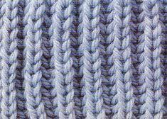 English Fishermans Rib a nice traditional rib knitting stitch Knitting Wool, Knitting Stitches, Baby Knitting, Knitting Patterns, Scarf Patterns, Punto Smok, Knitted Poncho, Poncho Sweater, Edge Stitch