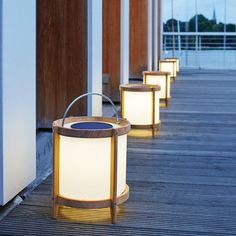 Neva Solarleuchte Teak Led, Canning, Places, Home, Natural Stones, Remote, Lighting, Ad Home, Homes