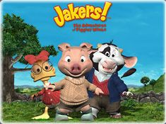 tv shows Jakers! The Adventures of Piggley Winks (Western Animation) - TV . Kids Tv Shows 2000, Old Kids Shows, 2000s Kids Shows, Right In The Childhood, Childhood Tv Shows, Childhood Memories 90s, Early Childhood, Best Kids Watches, Old Disney