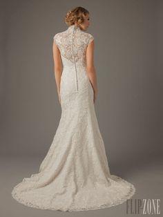 MZ2 by Mark Zunino for Kleinfeld - Bridal - 2013 collection - http://en.flip-zone.com/fashion/bridal/ready-to-wear/mz2-by-mark-zunino-for-kleinfeld