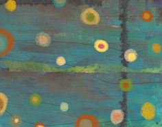 Sky with Circles 1 Painting Print on Wrapped Canvas
