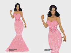 Look Pink original by Dragtina