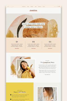Josephine: Feminine WordPress Theme