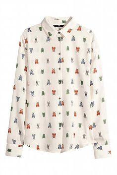 Spring Summer 2015 printed shirts