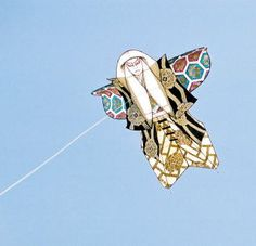 Kite flying is a winter activity.