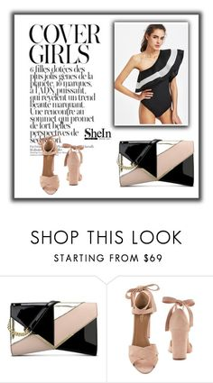 """Bez naslova #133"" by azra-dzafic ❤ liked on Polyvore featuring Nine West and Aquazzura"