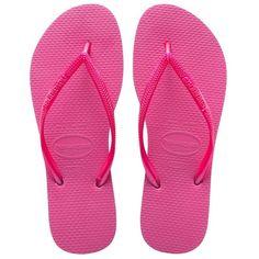 7d3aa420995b Flip-Flops - Bright pink Havaianas flip-flops - Slim Shocking Pink - Brand  Havaianas