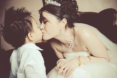 Bride and the little Prince ;)