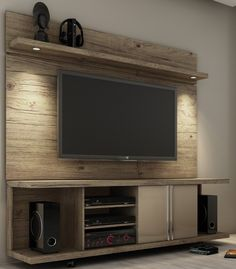 Have pops construct something like this for me with reclaimed wood he has. for storage.. maybe old cabinet.. etc. No back.. tv stand on top.