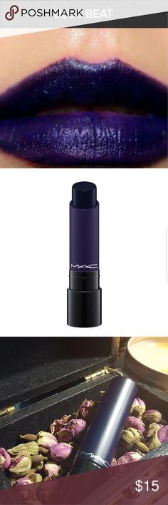 "M.A.C Lipstick M.A.C Liptensity ""Blue Beat"" (used) MAC Cosmetics Makeup Lipstick"
