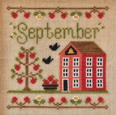 Cottage Of The Month- September XS Pattern