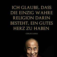 Religion: gutes Herz