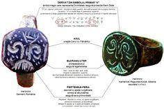 """Pomul Vieţii dunărean:  """"V""""-ul = emblema zeiţei-pasăre, derivată din triunghiul feminin; există deja în paleoliticul superior, ca emblemă a zeiţei-pasăre este atestat din neoliticul timpuriu şi continuă în fazele ulterioare; Bucraniul = izvor al vieţii, apă; origine în paleoliticul superior, de importanţă deosebită începând cu neoliticul timpuriu; Linii paralele, pieptene = ape curgătoare, apă de ploaie, simbol al succesului şi abundenţei; atestat în neolitic şi în toate perioadele următoare Danube River, Chevron, Personalized Items"""