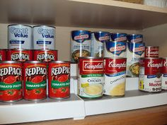 The Scrappy Housewife: Kitchen Organization - Part 1