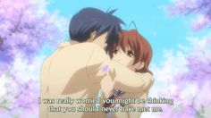 I've never cried so much as I cried in Clannad. This is the best emotional Anime ever. I cried my eyes out!!