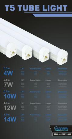 T5 TUBE LIGHT Only at MODERNLIGHT - JEDDAH - TEL#: 0126059596 #Modernlight, #modernlightJeddah, #modernlightksa