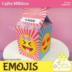Emojis nena Cajita milkbox