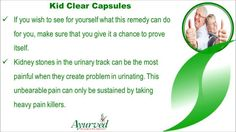 Dear friends in this video we are going to discuss about effective herbal treatment to remove kidney stones without surgery. You can find more details about Kid Clear capsules at http://www.ayurvedresearch.com/natural-treatment-for-gallstones.htm If you liked this video, then please subscribe to our YouTube Channel to get updates of other useful health video tutorials.