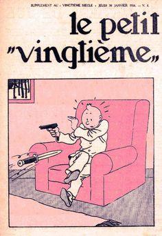 Comic Book Covers, Comic Books Art, Comic Art, Quick Et Flupke, Herge Tintin, Les Fables, Ligne Claire, Strip, Human Condition