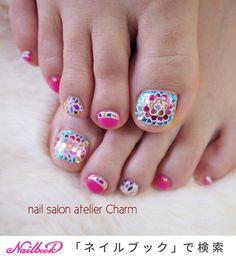 Pedicure Designs, Toe Nail Designs, Summer Toenail Designs, Cute Pedicures, Summer Toe Nails, Manicure Y Pedicure, Love Nails, Nail Art, Hands
