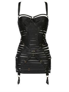 Bordelle Elastic Bondage Corset Dress on shopstyle.com