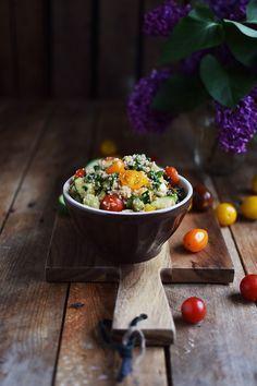 Couscous Salat - Couscous Salad | Das Knusperstübchen