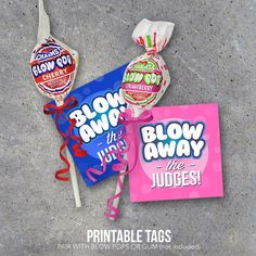 Sports Good Luck Gift – Blow Away The Competition Printable Tags designed to pair with Blow Pops or Gum – DIY Locker Treats for Game Day Valentine Day Cards, Valentines Diy, Happy Valentines Day, Valentine Wreath, Dance Team Gifts, Cheer Dance, Dance Good Luck Gifts, Diy Dance Gifts, Sadies Dance