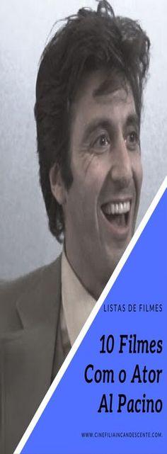 10 filmes com o ator Al Pacino. Justiça Para Todos, Scarface. Análises do cinema em todos os seus âmbitos. Um olhar desde os clássicos até o que há de mais atual e pipoca na sétima arte. Críticas, listas e artigos especiais de filmes todos os dias. Os melhores filmes. #filme #filmes #clássico #cinema #ator #atriz Cinema, Al Pacino, Movies, Videos, Devil's Advocate, Pursuit Of Happiness, Movie List, Top Movies, Actor