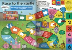Mr. Men Little Miss Magazine - Beefeater Special Issue - Pages 9 and 10