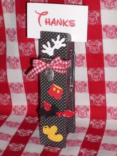 Disney Altered Clothespin by LKW - Cards and Paper Crafts at Splitcoaststampers