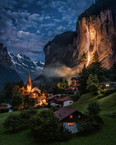 """""""Lauterbrunnen, Switzerland"""" by Marco Fries Beautiful Places To Travel, Wonderful Places, Destination Voyage, Places Around The World, Wonders Of The World, Places To See, Travel Destinations, Travel Photography, Canon Photography"""