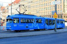 Old tram in Helsinki - Helsinki Picture Gallery - Photo Gallery - Images Small Computer, Rail Transport, Light Rail, Computer Programming, Helsinki, English Language, Finland, Photo Galleries, Software
