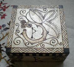 Rune Box. $100.00, via Etsy.