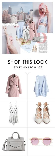 """""""1003. Fernanda Ly"""" by dreamingofamelia ❤ liked on Polyvore featuring Chicwish, Gianvito Rossi, Proenza Schouler, Sheriff&Cherry and Chico's"""