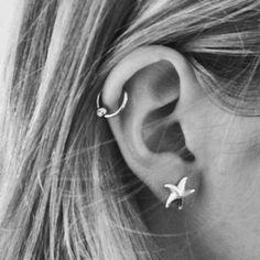 tiffany & co starfish earrings