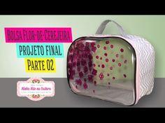 Bolsa Flores de Cerejeira   Projeto Final   Parte 2   Minha Mãe na Costura - YouTube