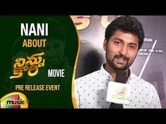 (1) Nani about Ninnu Kori Movie   Pre Release Event   Nivetha Thomas   Aadhi   Gopi Sundar - YouTube