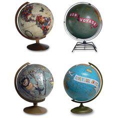 Delightful Decoupage DIY Projects globes